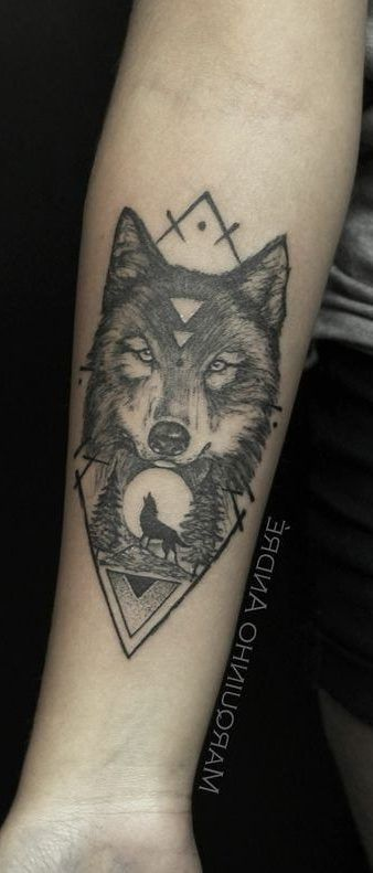 25 Tribal Wolf Chest And Shoulder Tattoo Ideas For 2020 Small Wolf Tattoo Wolf Tattoo Tattoos