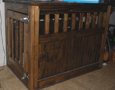 Pinterest the world s catalog of ideas for Pallet dog crate
