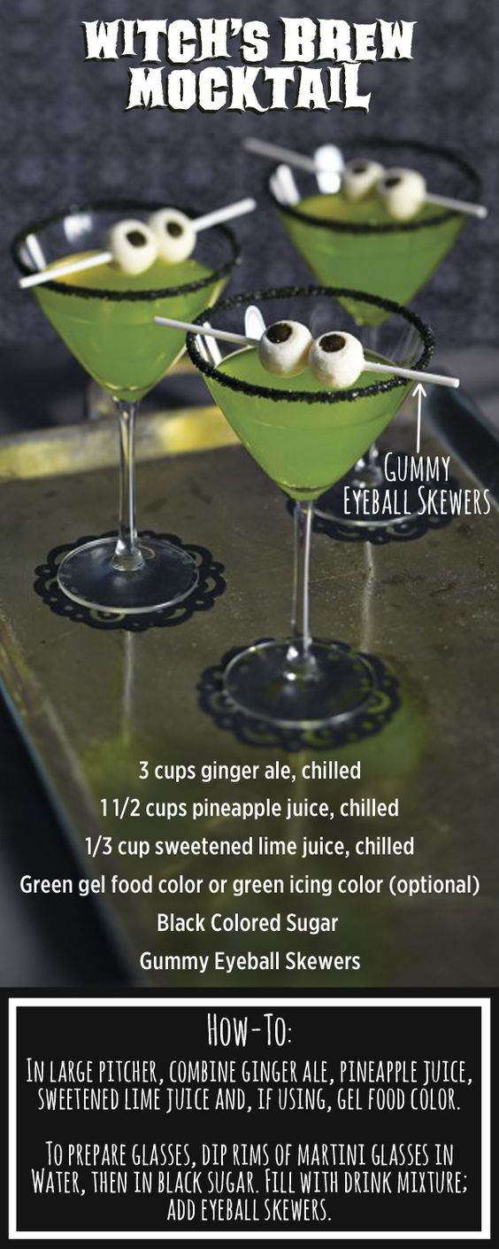 Mix up this easy potion for a Halloween Party!