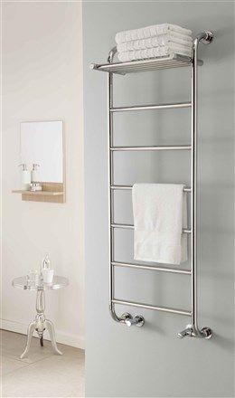 The Radiator Company Phoenix Chrome Heated Towel Rail Bathroom