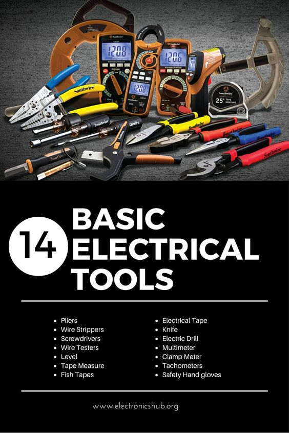 Electrical tools, Tools and Woodworking on Pinterest