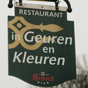 App name: Restaurant In Geuren en Kleuren. Price: free. Category: . Updated:   Jun 20, 2011. Current Version:  1. Size: 0.60 MB. Language: . Seller: . Requirements: Compatible with iPhone, iPod touch, and iPad. Requires iOS 4.2 or later.. Description: Dze app geeft informatie over   restaurant In Geuren en Kleure  n en de actuele menukaart  .