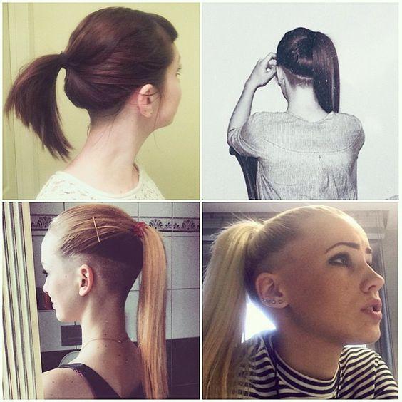 http://shornnape.tumblr.com/post/113950395732/ponytail-longhair-napeshave-undercut