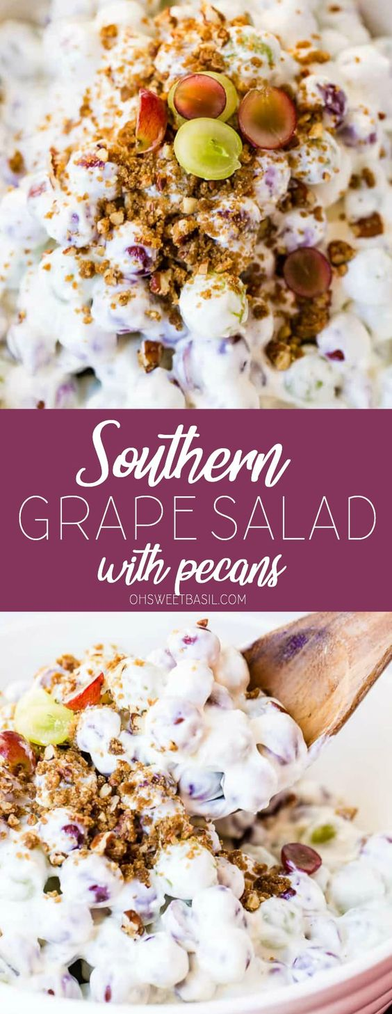 Southern Grape Salad with Pecans