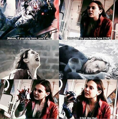 Wanda was honestly such a dangerous character, why the fuck would anyone want to kill her brother?