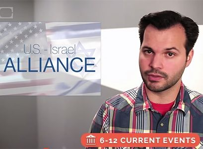Free Current Events video lesson: Israel, Palestine & the U.S.