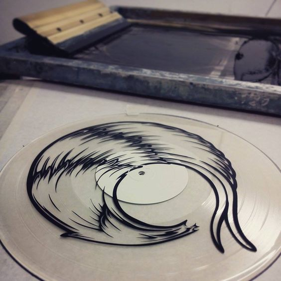 screen print onto 12 inch vinyl - Google Search