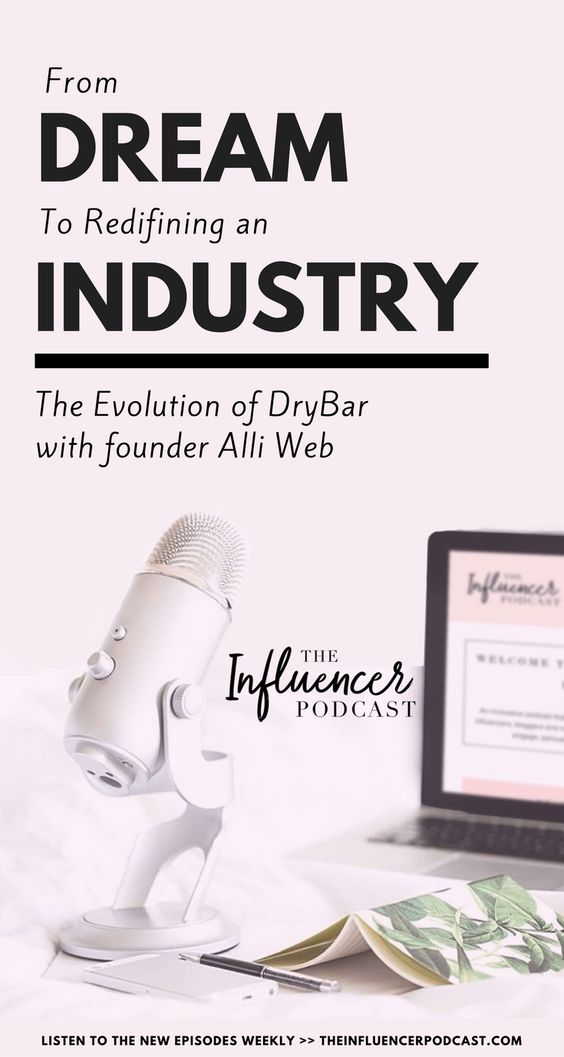 This week, Alli Webb, founder of Drybar shares how you can take a dream and turn it into a brand that redefines an industry. She also shares how influencers and brands can work together in collaborative ways. From dream to redefining an industry. The Influencer podcast, podcast for blogger, podcast for entrepreneur, marketing podcast, business podcast. Julie Solomon, Blogging Expert.