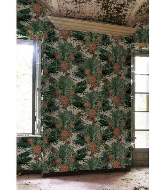 How good would the 'Pineapple Harvest' wallpaper look in your kitchen? Pick it up now from Milton & King: https://au.miltonandking.com/pineapple-harvest