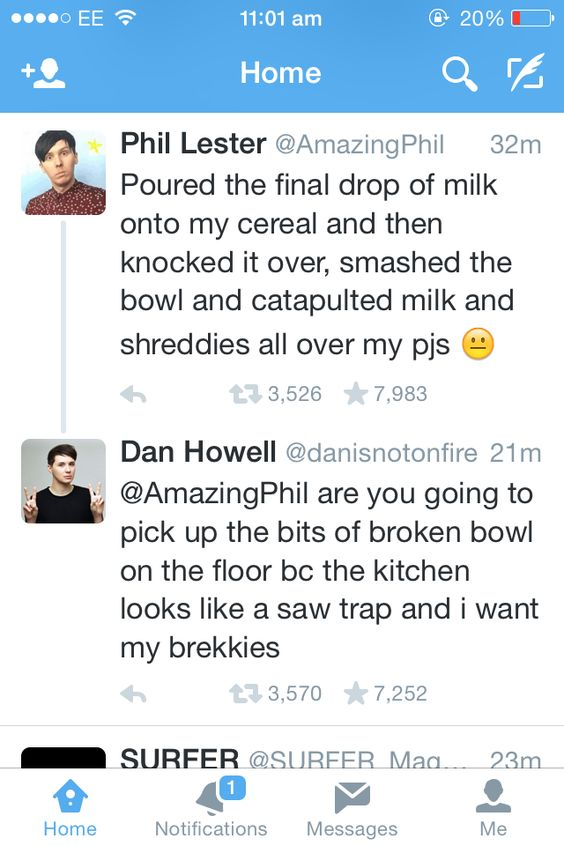 Dan & Phil everybody... Friendship goals - this is what I want to have if I have a roommate!!