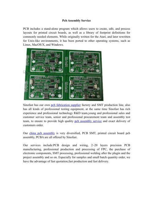 FlipSnack | Pcb Assembly Service by zhen shen | Introduction of PCBA ...