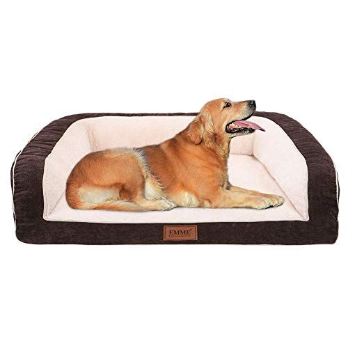Emme Pet Bed Sofa Style Orthopedic Dog Beds Removable Cover Ultra