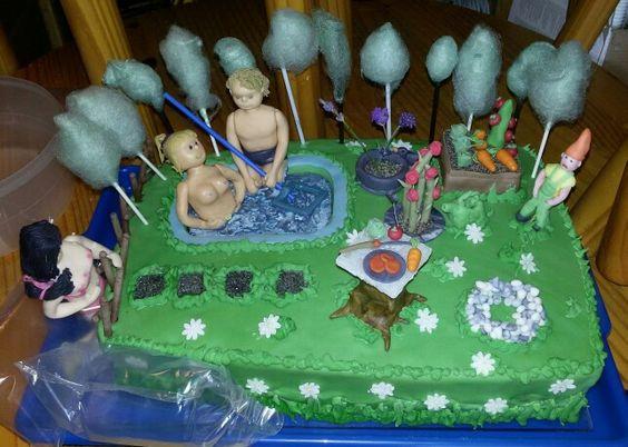 Mein Garten Torte