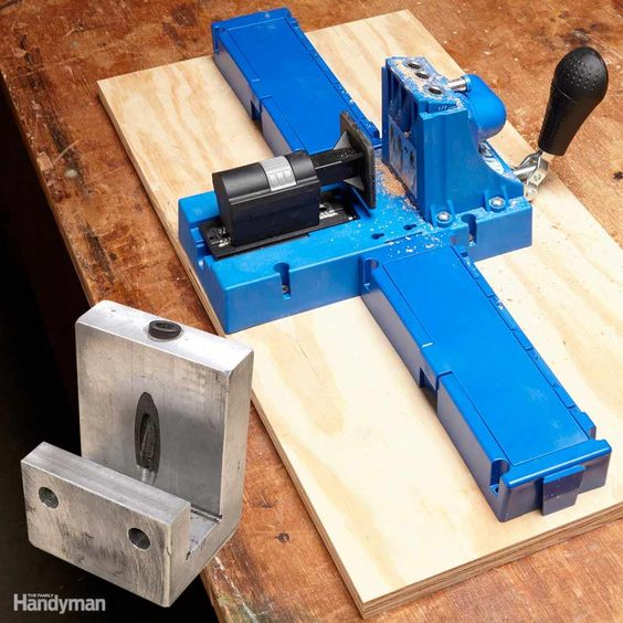 Kreg jig home and wells on pinterest for Build kitchen cabinets with kreg