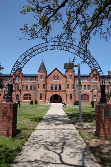 """NSU Seminary Hall    """"1888 Cherokee Female Seminary Northeastern State University"""""""