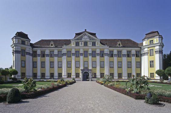 Ansicht des Neuen Schlosses Tettnang
