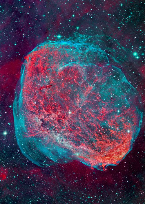 Nebulas crescents and hand made on pinterest for What is outer space made of
