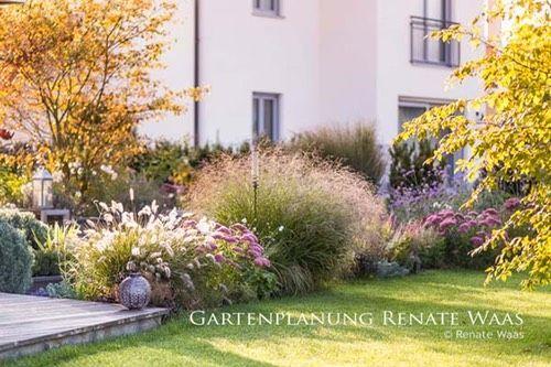 Gestaltungsideen Garten Graeser Gartenideen Inspiration Staudenbeet Moderner Garten Muenchen Gartenplanung Renate In 2020 Garden Architecture Perennials Modern Garden