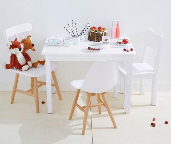 Kindertisch mit Stühlen von Vertbaudet