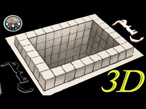 How To Draw A 3d Hole The Easiest Way كيف ترسم حفرة ثلاثية الابعاد باسهل طريقة Youtube Decorative Tray The Originals