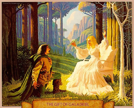 The Gift of Galadriel by Greg and Tim Hildebrandt