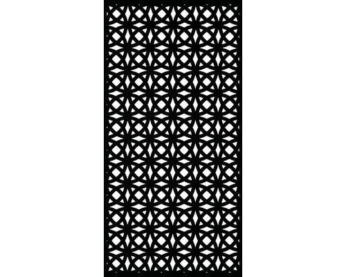Kleinergarten Sichtschutz Und Wanddekoelement Orbit Kunststoff 90 X 180 Cm Schwarz Bei Hornba In 2020 Sichtschutz Sichtschutz Garten Kunststoff Sichtschutz Im Freien