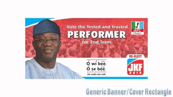 #reelectFayemi, campaign icons and others