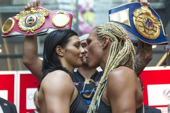 Photos: Female Fighters Face Off, Then Start Making Out - Boxing News