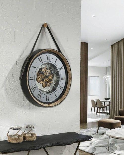 Reloj De Pared De Estilo Clasico Modelo Nantes En 2020 Relojes De Pared Decoracion De Muebles Relojes Decorativos