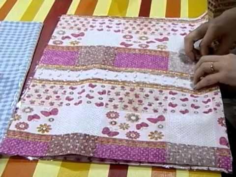 Diy beb c mo hacer una bolsa para pa ales patrones - Cambiador bebe patchwork ...