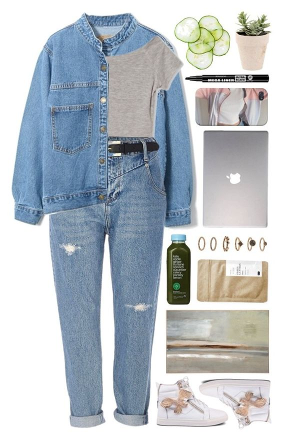 """""""""""Smile and remember at the end of the day your blessings outweigh your problems."""" -Unknown // Beautifulhalo 2"""" by yen-and-len ❤ liked on Polyvore featuring River Island, Benson-Cobb Studios, Kale, Forever 21, Samsung, Bourjois and Paper & Tea"""