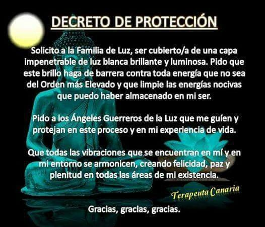 Decreto protección