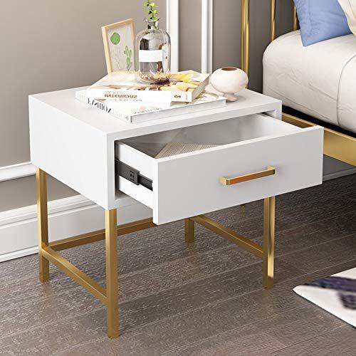 Feifei Bedside Table Simple Modern Bedside Wrought Iron Bedside