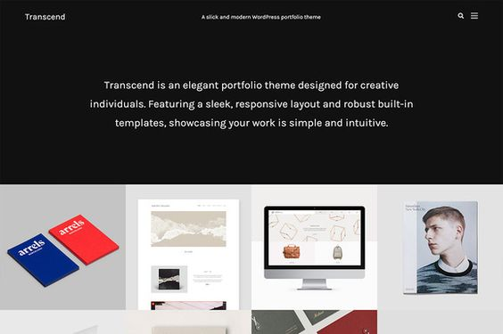 Transcend - Modern Portfolio Theme by Phase Themes