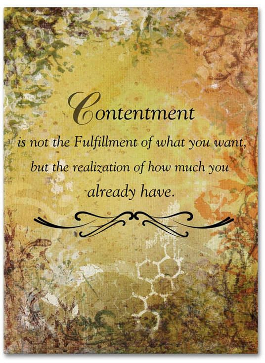 Trademark Global Janelle Nichol 'Contentment (earth theme)' Canvas Art - 19 x 14 x 2