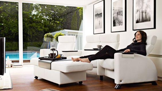 si ge de cin ma pour lamaison places de th tre and fauteuils inclinables on pinterest. Black Bedroom Furniture Sets. Home Design Ideas