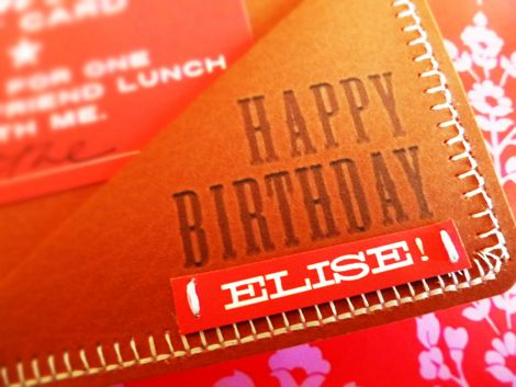 Paper gift card wallet