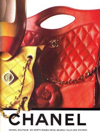 Chanel 1989 ad
