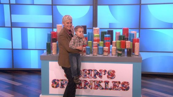 John, the 3-Year-Old Sprinkles Trickster