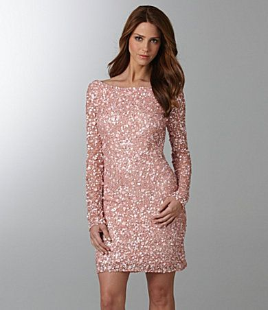 pink sparkly dress - engagement pic outfits - Pinterest - Colors ...