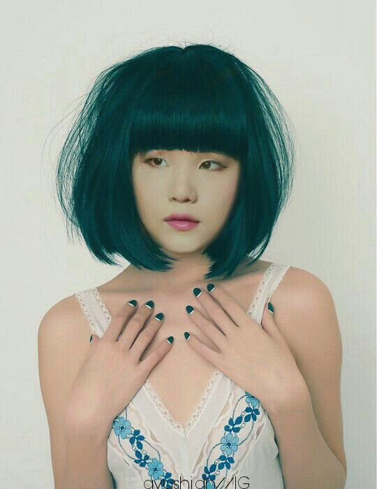 Bts Wallpapers Hair Styles Teal Hair Green Hair