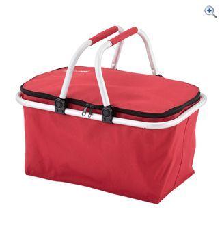 Hi Gear Folding Basket (Red) | GO Outdoors
