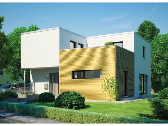 cubus 162 einfamilienhaus von hanse haus gmbh. Black Bedroom Furniture Sets. Home Design Ideas