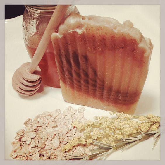 Goat Milk, Florida Wildflower Honey, Oatmeal & Organic Chamomile soap