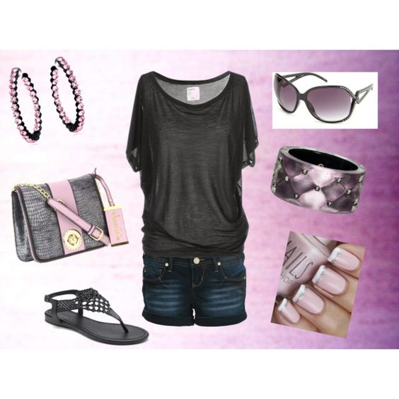"""""""Purp"""" by mzmamie on Polyvore"""