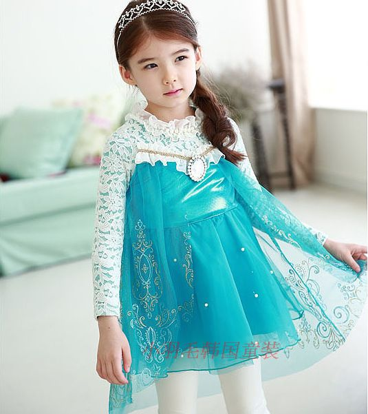 Vestidinho infantil princesas Disney | Elsa | Frozen