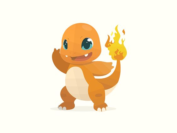 Charmander Pokemon by Artyom Khamitov🐉: