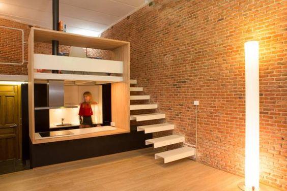 Pasillos, vestíbulos y escaleras de estilo Minimalista por Beriot, Bernardini arquitectos