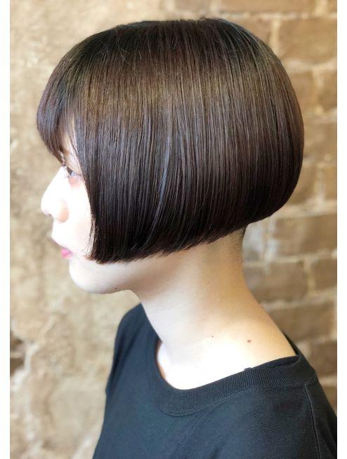 長嶺ジロウ 前下がり リップライン ボブ L016117802 マギーヘア Magiy Hair のヘアカタログ ホットペッパービューティー ショートのヘアスタイル ショートボブのヘアカット ボブカット