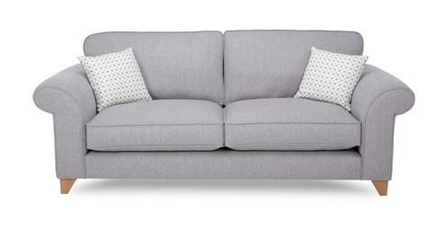 grey sofa for my dark grey and white living room....yes please